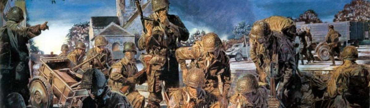 Sainte-Mere-Eglise: The 82nd Airborne Drops into France