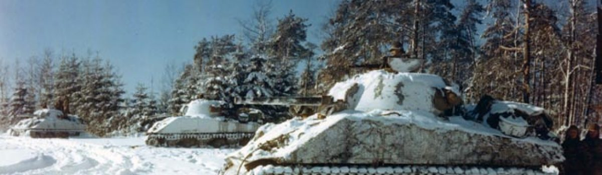 The Battle of the Bulge & The Defense of St. Vith