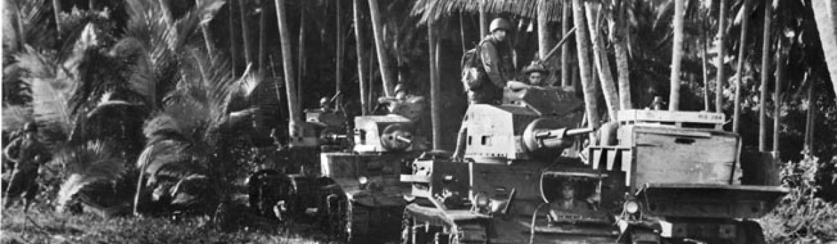 Marine Stand on Guadalcanal