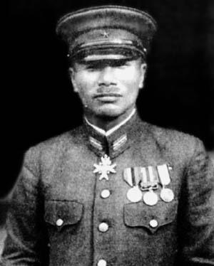 Colonel Kiyono Ichiki.