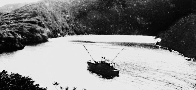 Author Ernest Hemingway tracked German U-boats aboard his yacht in the Caribbean.