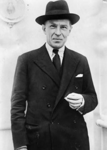 Sir Robert Vansittart of the British Foreign Office was a staunch opponent of the Chamberlain government's appeasement policy toward the Nazis.