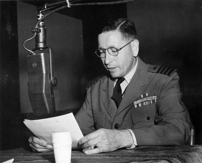 Zacharias, Fluent in Japanese, made numerous broadcasts on behalf of the U.S. government in an attempt to convince the Japanese to surrender.