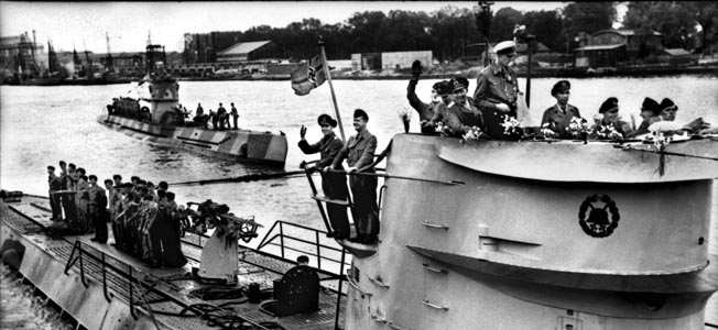 Nazi U-Boats brought World War II to America's shores as they ravaged merchant shipping.
