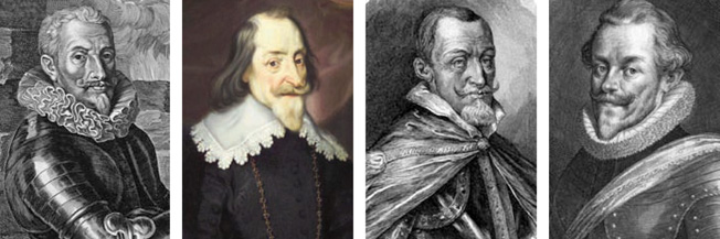 Count Tilly and Duke Maximilian of Bavaria led the Catholic League forces at White Mountain, and Counts Thurn and Anhalt commanded the Protestant forces at the battle.