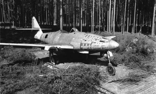 Miller thought the German Me-262 fighter aircraft, the first operational jet of the war, looked ugly. By the end of the war, German pilots hid their planes in woods and used the autobahn as a runway.
