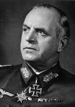 Field Marshal Ernst Busch, commander of Army Group Center at the beginning of Operation Bagration.