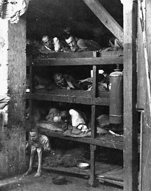 Many liberators are haunted by the faces of those survivors they found within the unbelieveable squalor of the camp barracks.
