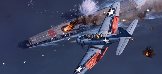 The pilots of the Douglas SBD Dauntless dive bomber changed the course of World War II in the Pacific.