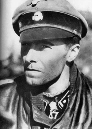 SS Colonel Jochen Peiper was a ruthlessly efficient officer who drove his armored spearhead toward the River Meuse as rapidly as possible.
