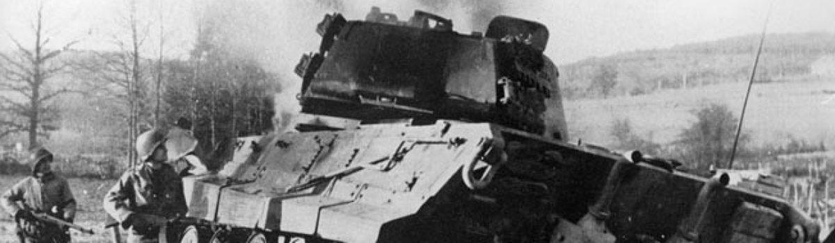 First Week of the Bulge: Joachim Peiper's Blitz For the Meuse