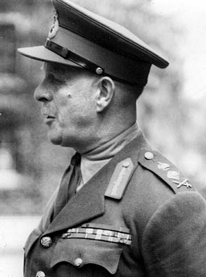British General Lord Gort, commander of the BEF, failed to stop the Germans.