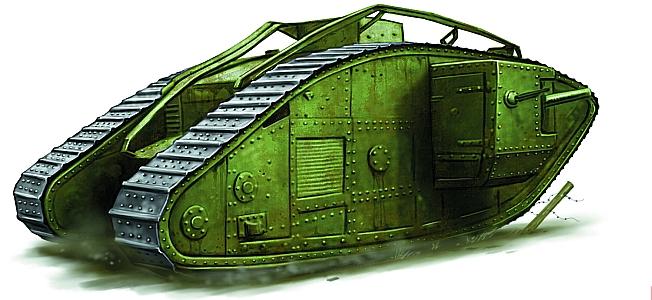 WW I Tanks at Amiens