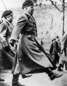 The once popular Il Duce had promised to lead Italy to world prominence, restoring the glory that was Rome.