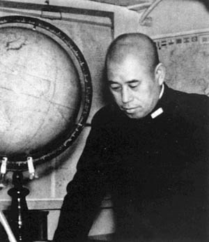 Admiral Isoroku Yamamoto, the brains behind the Japanese attack.