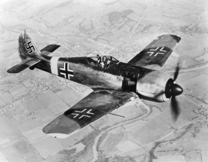 The Focke-Wulf Fw-190 fighter was a high-performance interceptor that took a heavy toll against Allied bombers sent to destroy the industrial infrastructure of the Third Reich.