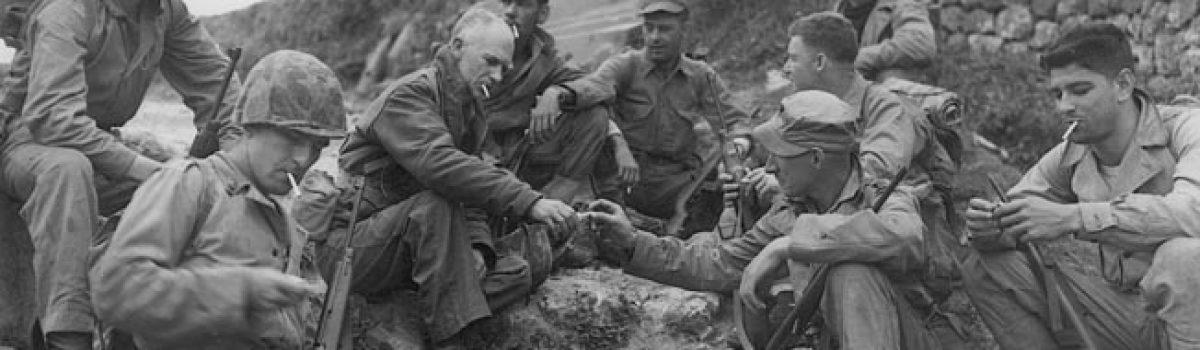 WWII War Correspondent Ernie Pyle