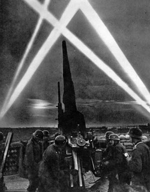 With typical German efficiency, homeland antiaircraft defenses were put into place to counter the Allies' bombing campaign over the Third Reich.