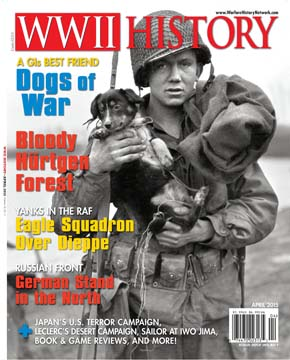 The April 2015 edition of WWII History magazine