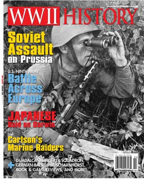 The February 2015 issue of WWII History Magazine