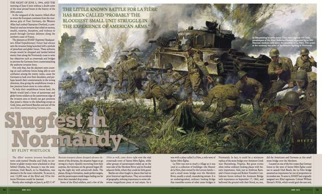 The artwork for World War II History Magazine is carefully culled from selective sources the world over by our editors.