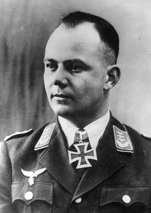 In charge of the lightning raid was Hauptmann Walter Koch, who commanded 420 glider troops and 42 glider pilots.