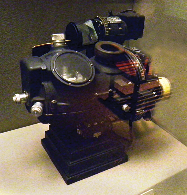 A Norden bombsight—America's top-secret weapon during the bombing campaign.