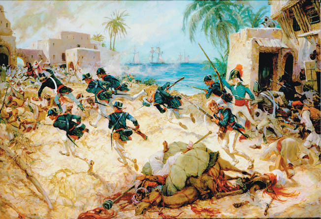 Led by 'General' William Eaton, one of the strangest invading forces in history set out across the desert near Tripoli to avenge American honor.
