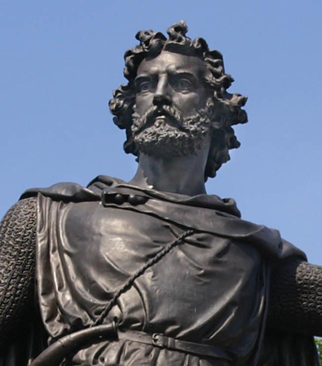Scottish commander William Wallace..
