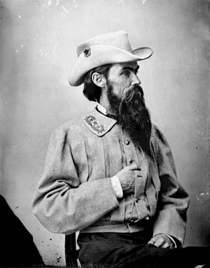 Confederate Maj. Gen. William Mahone commanded a division during the final campaign.