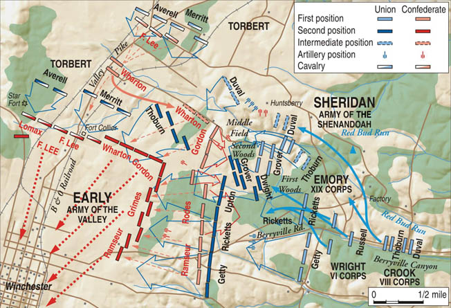 Sheridan's plan to funnel 20,000 troops through Berryville Canyon almost failed catastrophically when the men became hopelessly bottlenecked.