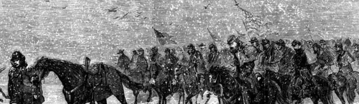 Winfield Scott Hancock & George Armstrong Custer After Hancock's War