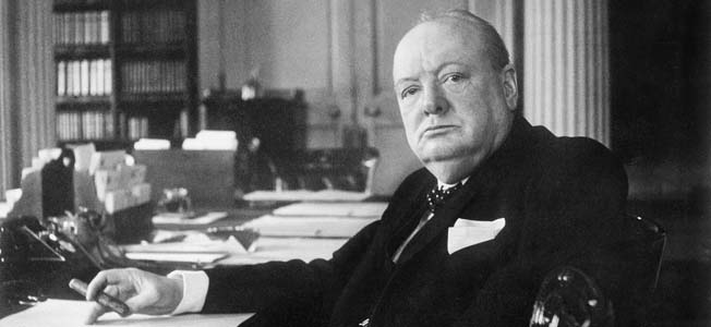 Winston Churchill's Britain not only had to fend off the powerful Luftwaffe but also defeat isolationism in America.