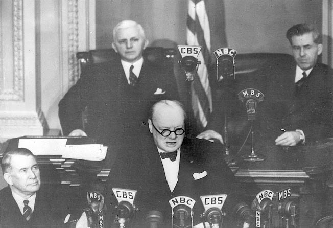 Code-named Arcadia, the meeting between Prime Minister Winston Churchill and Franklin D. Roosevelt established a basis for military cooperation.
