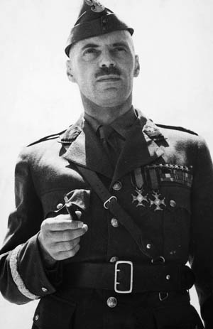 General Wladyslaw Anders led free Polish forces in their fight against the Nazis.