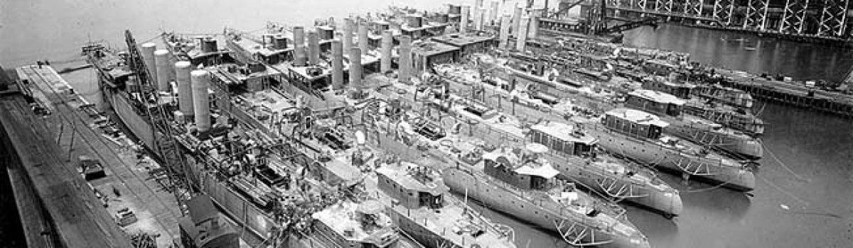 World War 1 Battleships: The American Destroyer