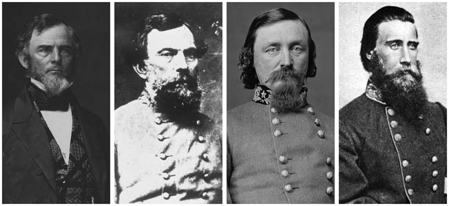 Worst Confederate Generals of the American Civil War.
