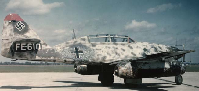 Hermann Göring's 'Wunderwaffen,' the Messerschmitt Me-262, was among several unveiled for the Führer that the Nazis hoped would turn the tide of war.