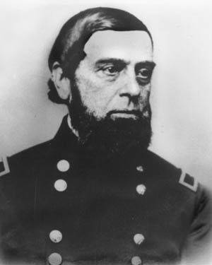 Major Jacob Zeilin, wounded at Bull Run, became commandant in June 1864.