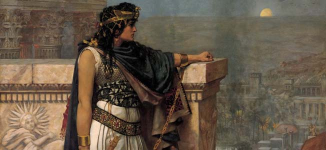 Zenobia, Queen of Palmyra, defeated armies, glorified her city, built an empire and made Rome quake.