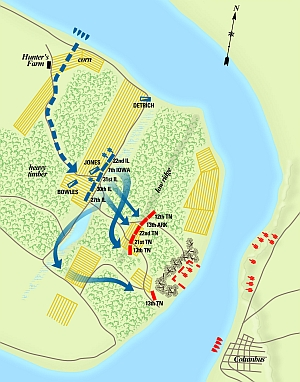 Even Before Fort Donelson, Grant Showed Himself Bold and Aggressive at the Battle of Belmont.