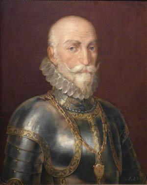 Spanish Admiral Don Alvaro de Bazan.