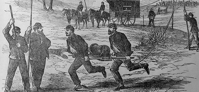 Civil War Weapons: The Telegraph?