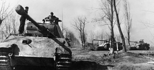 In March 1945, Hitler concentrated his Panzer forces for a last lunge on the Eastern Front. The odds were heavily stacked in the Red Army's favor.