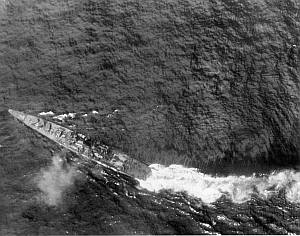 Crossing the T at the Battle of Leyte Gulf