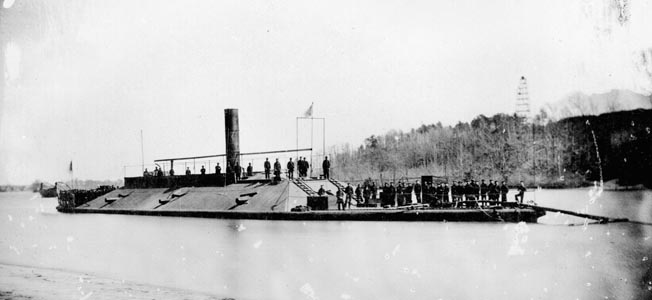 CSS Virginia II was one of several ships of the James River Squadron to support Confederate efforts to retake Fort Harrison.