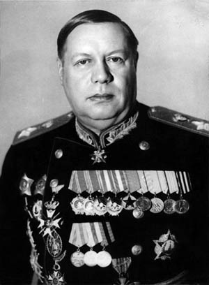 Marshal Fyodor Tolbukhin led the 4th Ukrainian Front