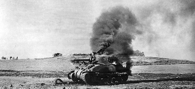 George Patton & Bernard Montgomery in Operation Huskey