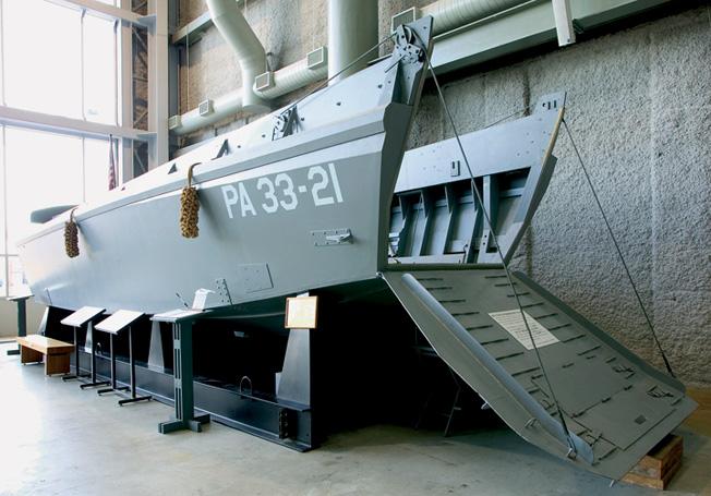 Recreated Higgins boat.