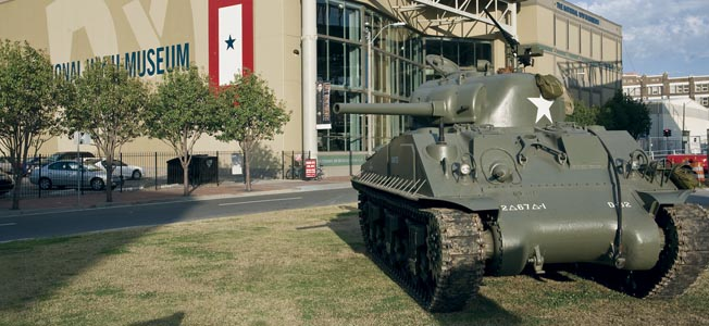 The National World War II Museum in New Orleans officially opened in 2000 as the National D-Day Museum.